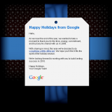 Happy Holidays from your Google team!