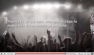 Ultra Records: Thanks to all the fans who sent in clips to make  this video montage possible.