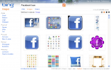Bing: Search Facebook Icon 1.