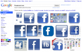 Google: Search Facebook Icon 1.
