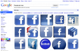 Google: Search Facebook Icon 2.