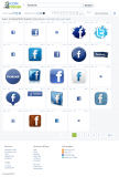 Iconfinder: Search Facebook Icon