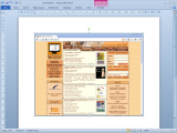 Microsoft Word 2010: Screenshot 2.