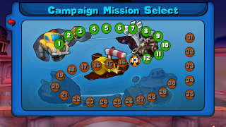 Worms Reloaded: Campaign Mission Select