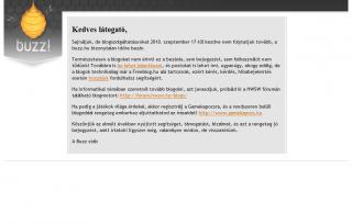 buzz.hu: Képernyőkép (2010 október 14.)